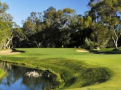 The 3rd hole at Lake Karrinyup CC