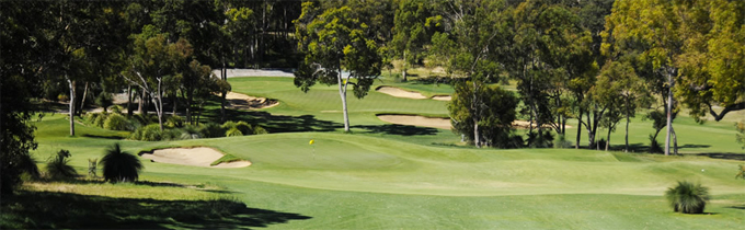 The Par-3 12th hole Lake-Karrinyup-CC