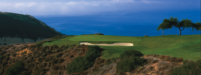 The 3rd hole at Torrey Pines © Peter Corden