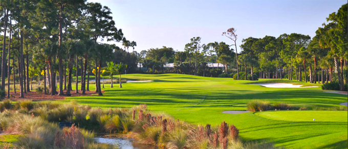 The Jack Nicklaus redesigned Champions course at The PGA National Resort at Palm Beach Gardens © Peter Corden