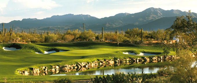 The Jack Nicklaus designed Dove Mountain © Peter Corden