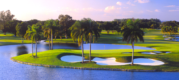 Doral resorts Blue Monster course