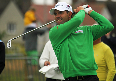 Padraig Harrington 16/1 © TourProGolfClubs.com