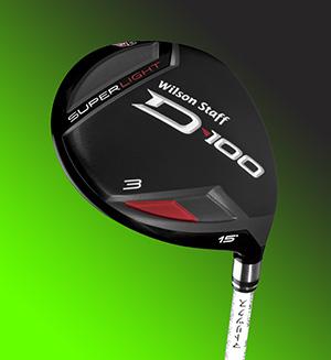Wilson D100 3-Wood