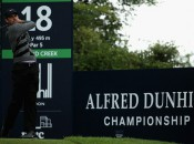 Charles Schwartzel at play in Round 1of the Alfred Dunhill Links