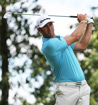 Dustin Johnson 14/1 © Keith Allison