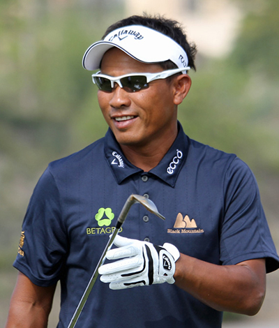 Thongchai Jaidee 22/1 © Tour Pro Golf Clubs