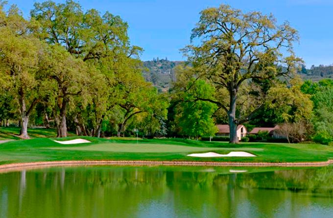 The par 3, 11th hole © Silverado Resort
