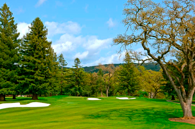 The beautiful 17th hole © Silverado Resort