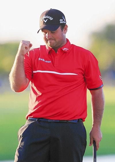 Patrick Reed 28/1 © James Kennedy