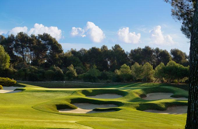 Real Club-de Golf El Prat 10th hole © Real Club-de Golf El Prat/Jacob Sjöman