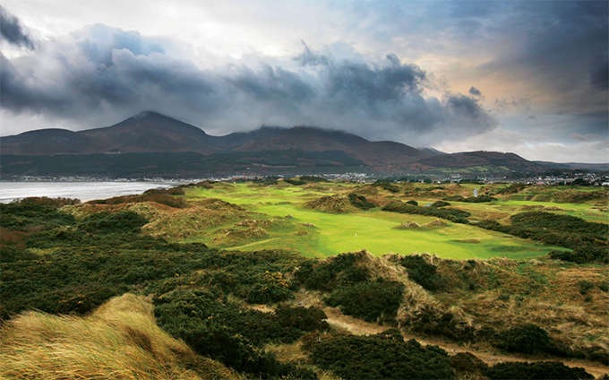 One of the best golf courses in the world Royal County Down © Kevin Murray