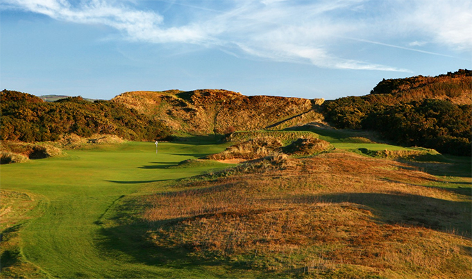 Paradise among the dunes at Royal County Down © Kevin Murray