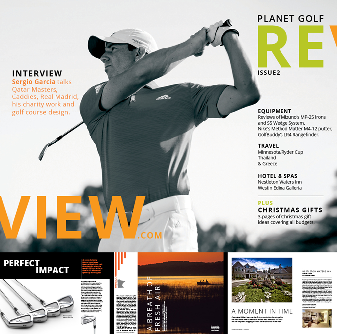 Planetgolfreview digital magazine issue 2