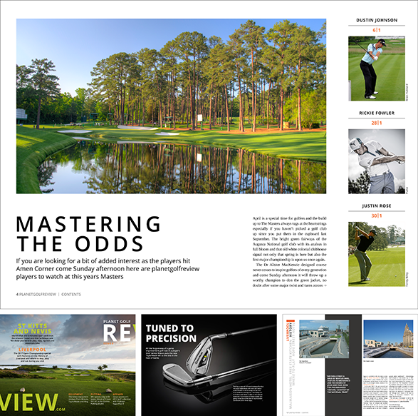 The Masters Issue