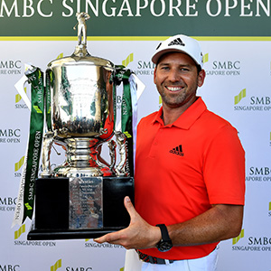 Sergio Garcia 33/1 © Asian Tour/Lagardére Sports