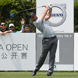 Lucas Bjerregaard 16/1 © China Open/Richard Castka/Sportpixgolf.com