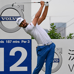 Erik Van Rooyen 45/1 © Volvo China Open/Richard Castka/Sportpixgolf.com