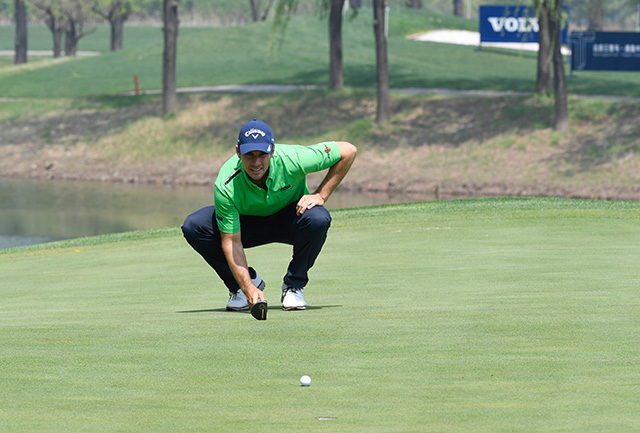 Andrea Pavan 18/1 © Volvo China Open Richard Castka/Sportpixgolf.com