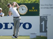 Thomas Pieters during the third round of the Volvo China Open on 25 April 2015 at Tomson Shanghai Pudong Golf Club, Shanghai, China. Mandatory credit: Richard Castka/Sportpixgolf.com