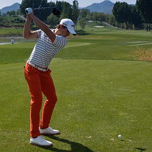 Thomas Detry 16/1 © Volvo China Open, Richard Castka/Sportpixgolf.com