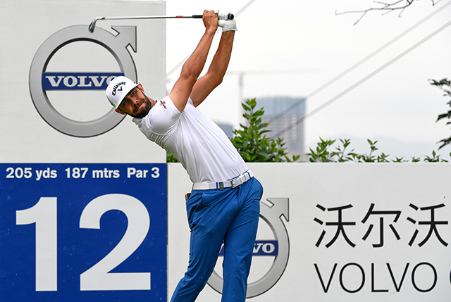 Erik Van Rooyen 25/1 © Volvo China Open/Richard Castka/Sportpixgolf.com