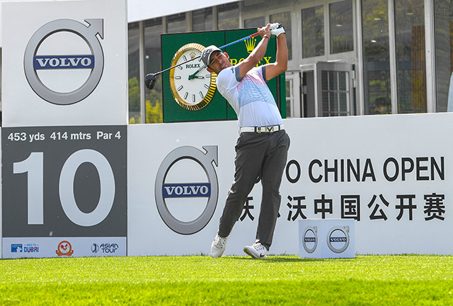 Pablo Larrazábal 50/1 © Volvo China Open, Richard Castka/Sportpixgolf.com