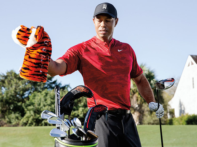Tiger Woods 7/1 © TaylorMade