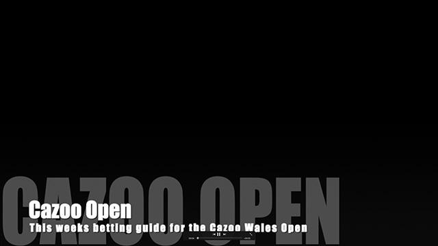 Cazoo Open