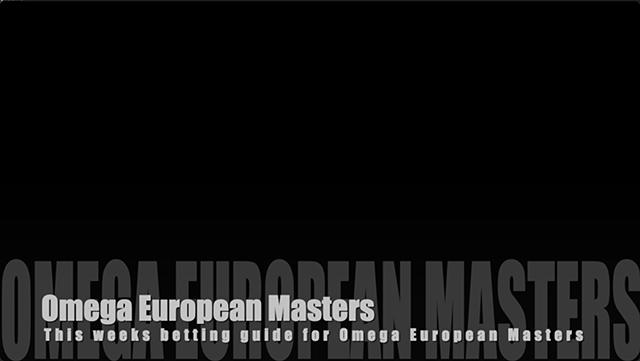 Omega European Masters thumbnail