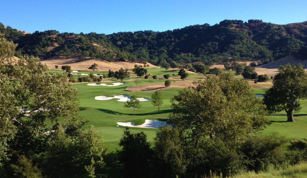 Golf course from room above 9th fairway ©Robert Kaufman