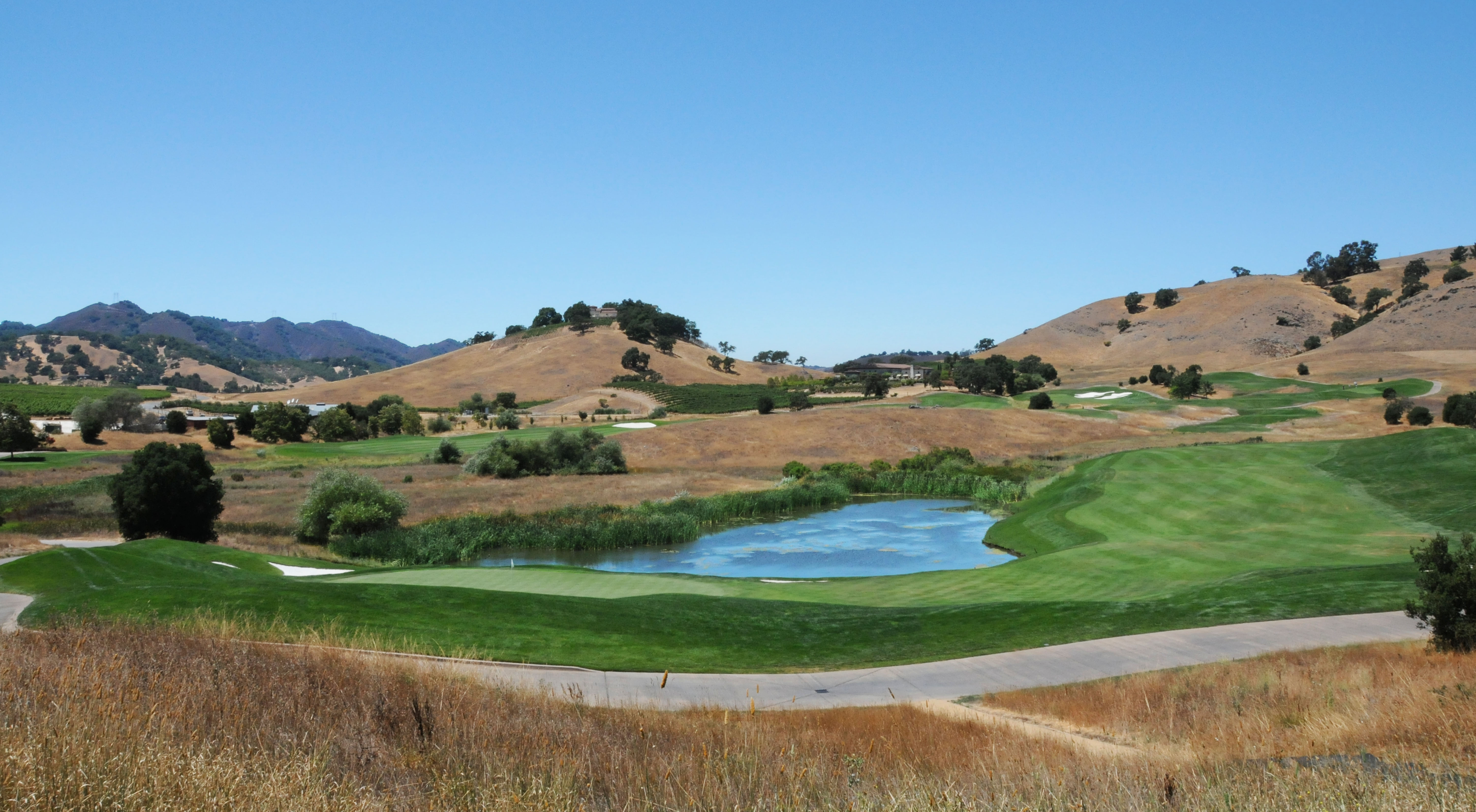 CordeValle GC with winery in background ©Robert Kaufman