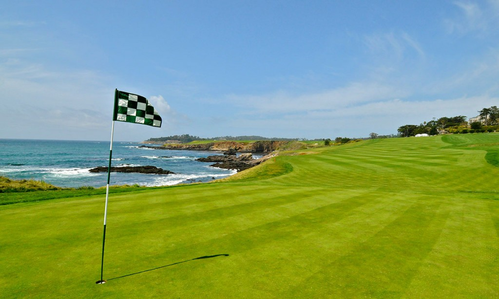 Looking back from 10th hole at Pebble Beach GL ©Robert Kaufman