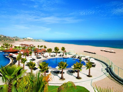 Oceanfront pool view from Pueblo Bonito Pacifica Golf & Spa Resort