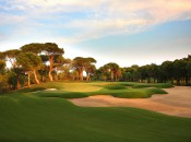 The 16th at the Montgomerie Course of the Papillon Golf Club.