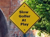 Sadly, these signs should be posted at all golf competitions!