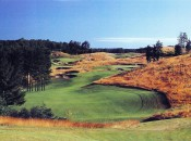 The out-of-the-way private Kingsley Club is worth a visit if you can wrangle an invitation.  Shown here are the 7th and 8th holes.