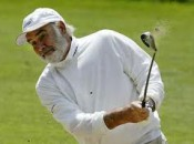"""Goldfinger"" inspired Sean Connery's lifelong devotion to the game.  He's cool, but he's no pro."