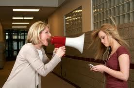 being unaggressive listener