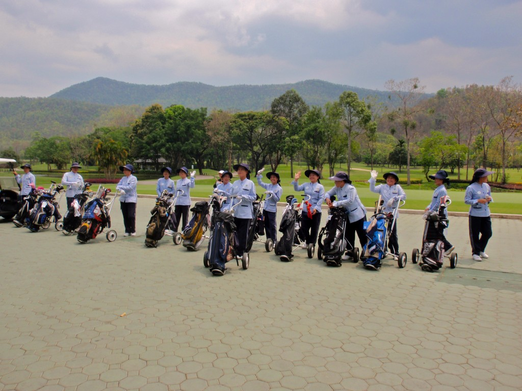 A gorgeous course and friendly caddies await you at Alpine Golf Resort.