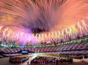 Olympic fireworks 2012