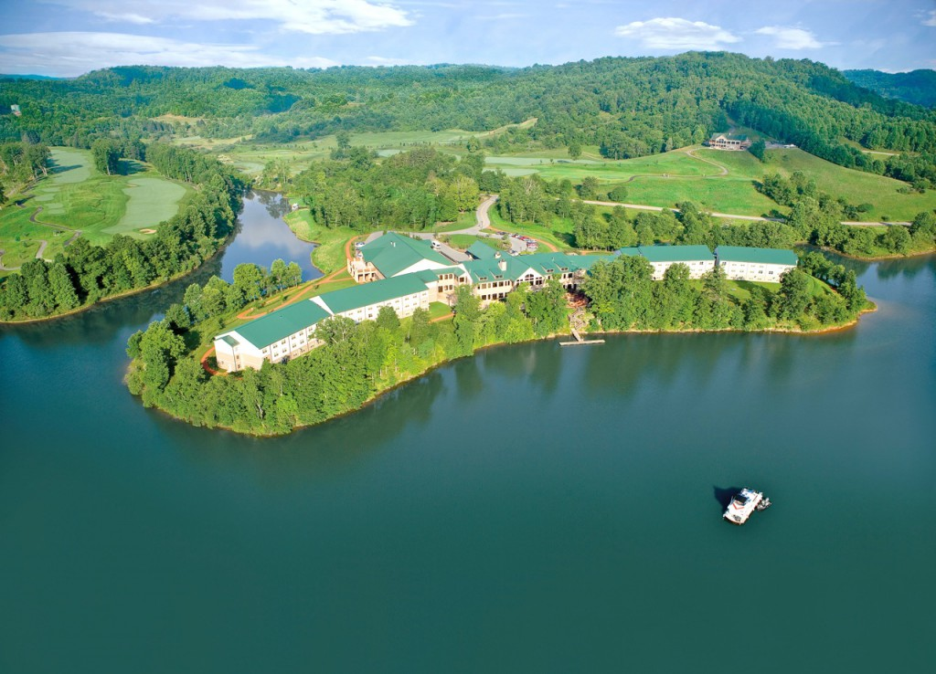 Stonewall Resort Aerial