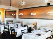 The interior of Jean-Marie Josselin's latest culinary adventure, JO2, in Kapaa