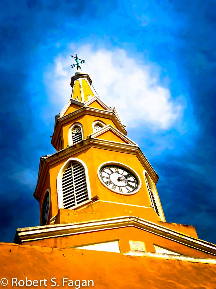 Cartagena Clock Tower 1