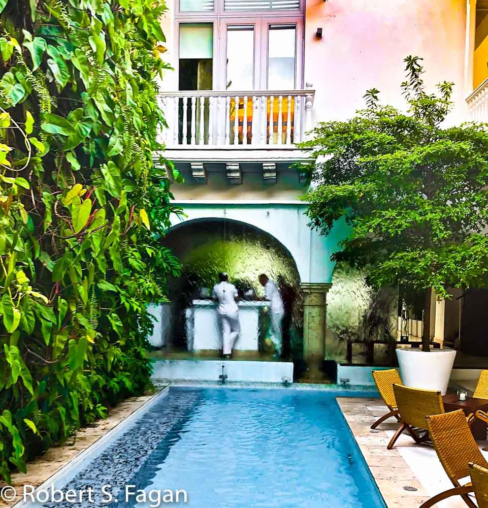 Cartagena Hotel Lobby
