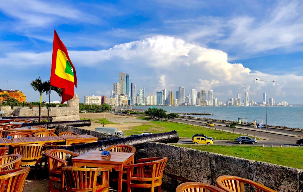 Cartagena Skyline Web