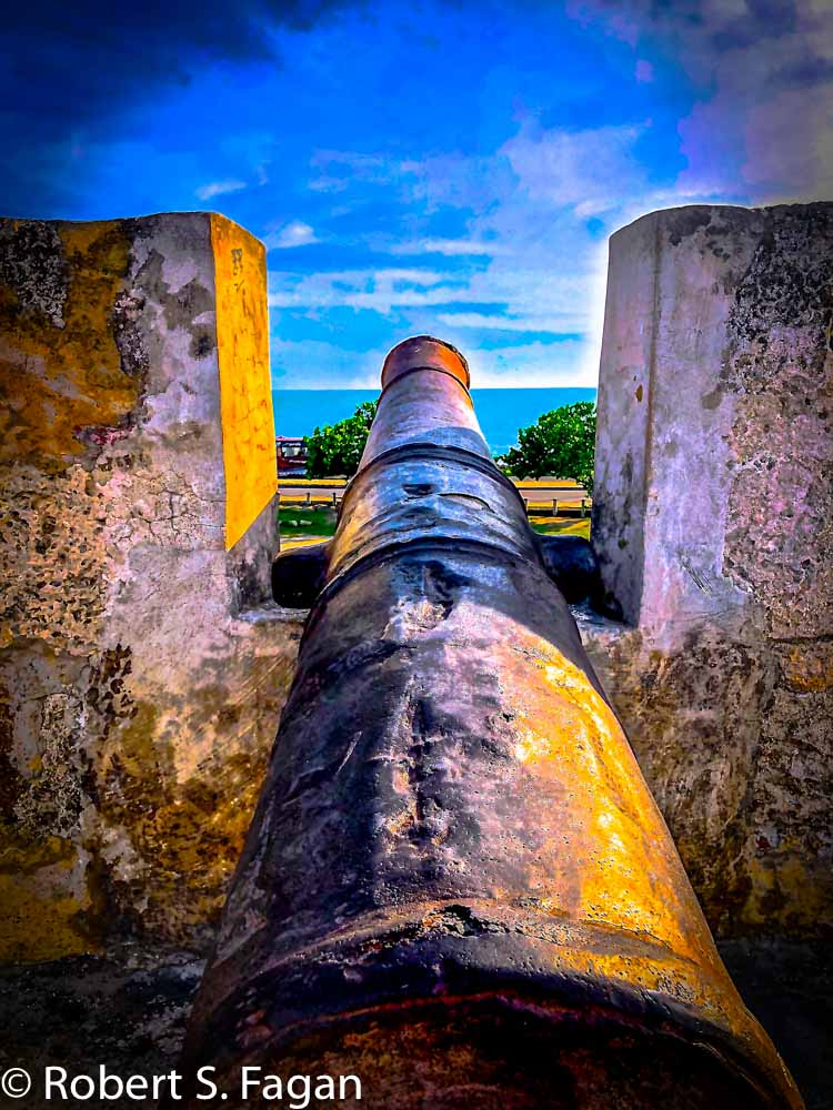 Cartagena fort cannon