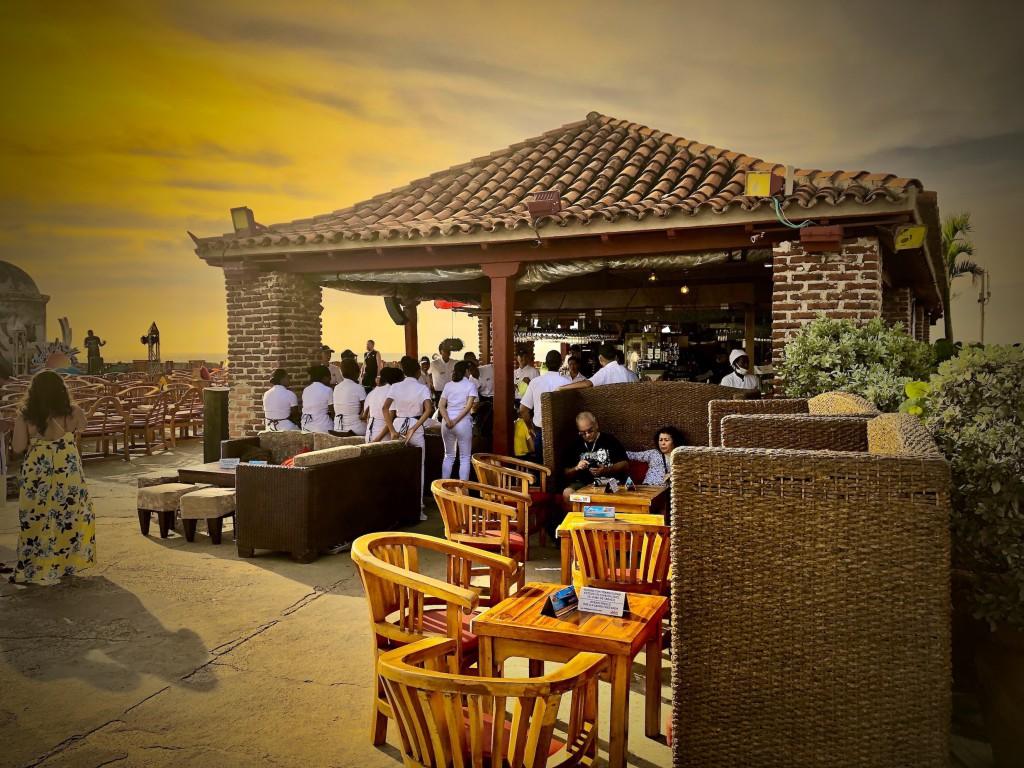 Cartagena sunset web