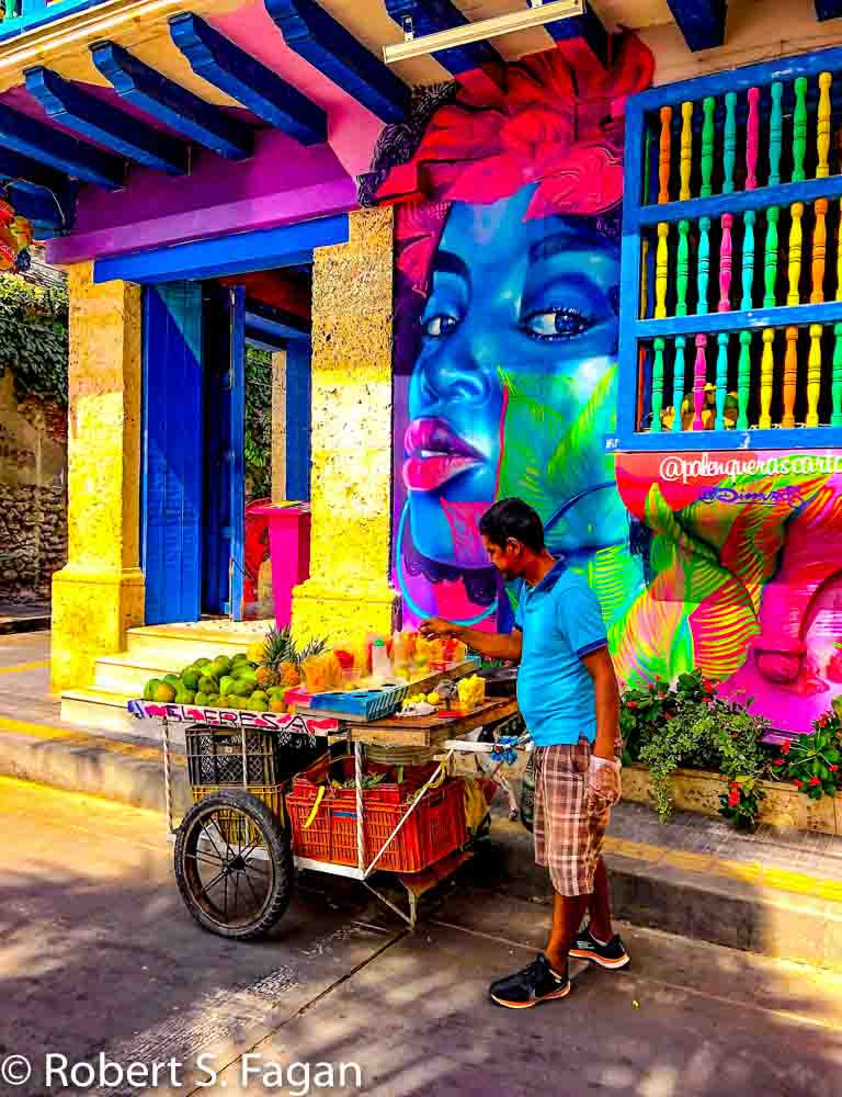 Getsemani Fruit Vendor