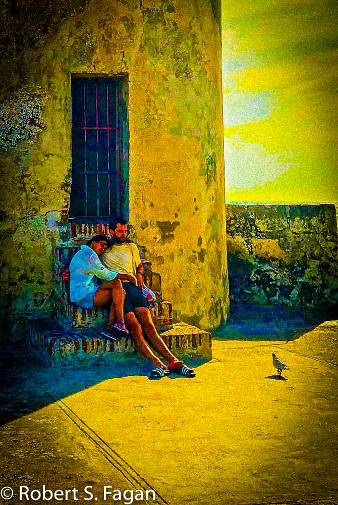 Walled City Cartagena Couple